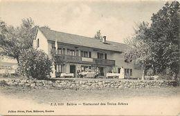 -ref  W301- Suisse -saleve - Restaurant Des Treize Arbres - Carte Bon Etat  - - Suisse