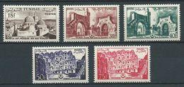 TUNISIE 1956 . N°s 412  Et 415 à 418 . Neufs ** (MNH) - Tunisie (1956-...)
