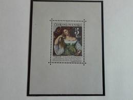 """Tchécoslovaquie 1965 A: Tizian """"Portrait Of A Young Woman"""" Neuf Avec Gomme Originale - MUH - Ungebraucht"""