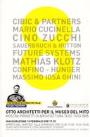 Fondazione Casa Natale Enzo Ferrari - Otto Architetti Per Il Museo Del Mito - Mostra 2005 - - Grand Prix / F1