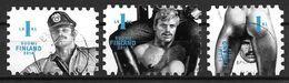 Finlande 2014 N°2305/2307 Oblitérés Tom Of Finland. Oeuvres  Homosexuelles - Gebraucht