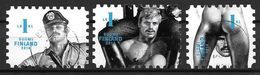 Finlande 2014 N°2305/2307 Oblitérés Tom Of Finland. Oeuvres  Homosexuelles - Finlandia
