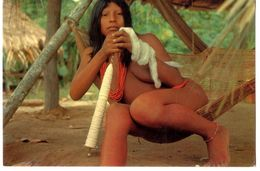 GUYANE FRANCAISE  GUYANE FRANCAISE  JEUNE WAYANA INDIENNE  -  HAUT ITANY  -  EDITIONS DES CARAIBES - Guyane