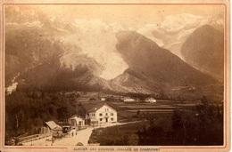 CARTE PHOTO   GLACIER DES BOSSONS  - VALLÉE DE CHAMONIX - Chamonix-Mont-Blanc