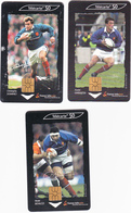 """Lot 3 Télécartes """" RUGBY"""" - Lots - Collections"""