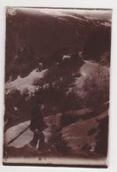 26405 VOYAGE Aux PYRENEES France En 1900-  Photo Légendée Gripp Chemin Tourmalet ...cascade ? - Lieux