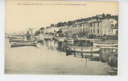 Environs De TOULON - Creux Saint Georges - Vue D'ensemble Du Quai - Toulon