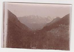 26406 VOYAGE Aux PYRENEES France En 1900-  Photo Légendée Gripp Vallée Vue Prise... - Lieux