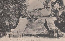 (Yonne) Auxerre - 89 - Tombeau De Paul Bert, Sculpté Par Bartholdi (circulé 1905) - Auxerre