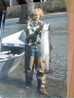 PESCE SALMONE TROTA PESCA USA Steelhead Trout, Washington River VB1994   GN21715 - Pesci E Crostacei
