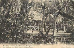 -ref  W288- Ile Maurice - Mauritius - Les Kiosques Du Grand Bassin , Pamplemousses  - Carte Bon Etat  - - Mauritius