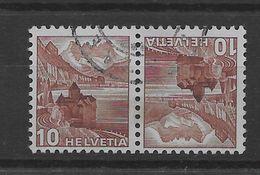Tete Beche De Suiza Nº Zumstein K-36 O - Tete Beche