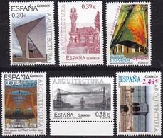 2007,  Spanien, 4216/21, Architektur.  MNH ** - 1931-Aujourd'hui: II. République - ....Juan Carlos I