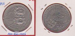 Portugal /  KM 664 /  100 Escudos 1991  / TTB+ - Portugal