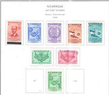 Nicaragua PA 1955 Rotary Int..Scott.C353/362-359-362+NuoviUsed  See Scans On Scott.Album+ - Nicaragua