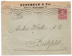 D29  Österreich, Austria Privatganzsache Schenker & Co. Wien 1913 - Interi Postali