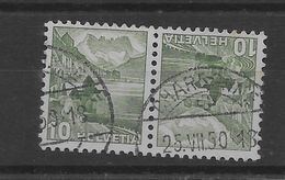 Tete Beche De Suiza Nº Zumstein K-39 O - Tete Beche