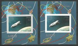 AJMAN - MNH - Space - Bostok Spaceship - Perf. + Imperf. - Espace