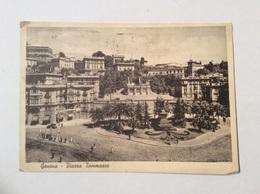 GENOVA - Piazza Tommaseo - Cartolina FG V 1939 - Genova (Genoa)