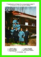 MILITARIA,  LE MARÉCHAL FOCH PART POUR PARIS LE 11 NOVEMBRE 1918 -  EDITION DE L'ARMISTICE - - Personnages