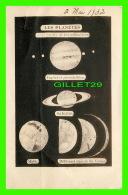 ASTRONOMIE - LES PLANÈTES À LA LUNETTE DE 169 MILLIMÈTRES - ÉCRITE EN 1932 - - Astronomy