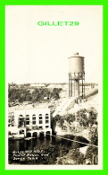 A IDENTIFIER - POWER HOUSE & SURGE TANK - OCT 4 / 1937 - REAL PHOTO - - A Identifier