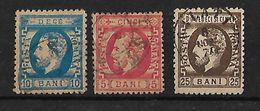 Rumania 1872 Principe Carlos Serie Completa - 1858-1880 Moldavia & Principado