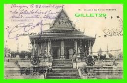 ANGKOR, CAMBODGE - SOUVENIR DES RUINES D'ANGKOR - TRAVEL IN 1908 - CONFIRMATION DE COMMANDE RÉCOMPENSE - - Cambodge