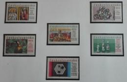 Tchécoslovaquie .1967 6 Valeurs  YT 1560/1565 Neuf ** Exposition Internationale De Montréal - MUH - Ungebraucht