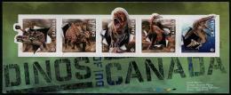 Canada (2015) - Block -  /   Dinosaurs - Dinosaurios - Dinosaures - Dinosauros - Vor- U. Frühgeschichte
