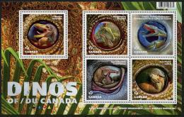 Canada (2016)  - Block -  /  Dinosaurios - Dinosaures - Dinosaurus - Dinosaurs - Prehistoric Fauna - Vor- U. Frühgeschichte