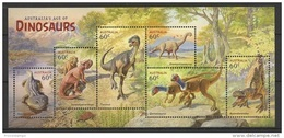 Australia (2013) - Block -   /  Dinosaurios - Dinosaures - Dinosaurus - Dinosaurs - Prehistorisch