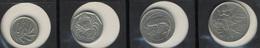 Malta Set 4 Coins - Serie 4 Monedas  2 Cents -5c-10c-25c -  1991-1993. - Malta
