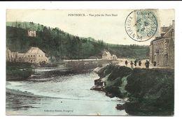 PONTRIEUX - Colorisée  1906 - Hamon éditeur - Pontrieux