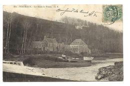 PONTRIEUX - Bords Du Trieux  1908 - G F éditeur - Pontrieux