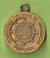 Lisboa  Medalha Do 50ª Aniversário Da Companhia Nacional De Navegação 1922-1972 Barco  Navio  Paquete - Marinha Mercante - Tokens & Medals