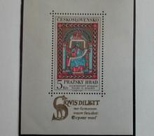 Tchécoslovaquie 1967 5 Kcs Miniature Sheet Manuscrit Enluminés  - Neuf Avec Gomme Originale - MUH - Ungebraucht