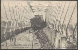 Les Ponts De Cé - Catastrophe Ferroviaire - 4 Août 1907 - Le Tablier Du Pont Détruit - Voir 2 Scans - Les Ponts De Ce