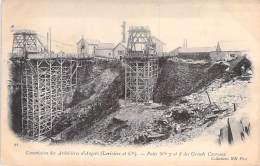 CARRIERE - 49 ANGERS Ardoisières ( Larivière & Cie ) CPA Puits 7 Et 8 Des Grands Carreaux - Querry Steinbruch Mining - Mines