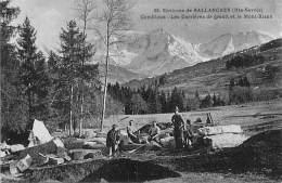 CARRIERE - 74 Environs De SALLANCHES - COMBLOUX - Carrières De Granit - CPA - Querry Steinbruch Mining Minen - Bergbau