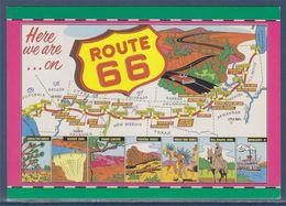 = Carte De La Route 66 - Route '66'