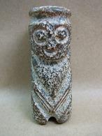 FREE SHIPPING. A Chinese Ethnic Tribal Jade Or Hard Stone Humanoid Figurine. Free Shipping - Arte Orientale