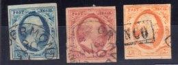 OLANDA NEDERLAND 1/3 - Period 1852-1890 (Willem III)