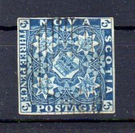 NUOVA SCOZIA  NOVA SCOTIA N.2 Usato - Great Britain (former Colonies & Protectorates)