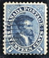CANADA N. 17 Usato - Used Stamps