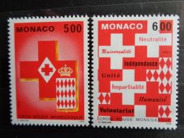 MONACO 1993 Y&T N° 1906 & 1907 ** - CROIX ROUGE MONEGASQUE - Monaco