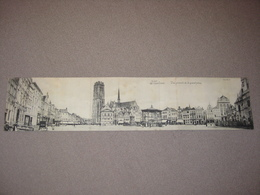 MALINES - 3-delige Kaart !!! Panorama Grote Markt - RAAR - Uitg. Vanderauwera Sér.5 N°70 - Mechelen