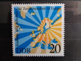 DDR 1975 Y&T N° 1749 **  - CONFERENCE D' HELSINKI - [6] République Démocratique