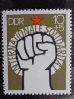 DDR 1975 Y&T N° 1766 **  - SOLIDARITE INTERNATIONAL - [6] République Démocratique