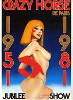 CRAZY HORSE DE PARIS  JUBILEE SHOW   -  TRES BELLE ILLUSTRATION  1983 - Cabaret